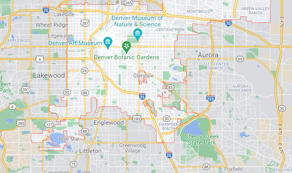 downtown-denver-roofing-service-area